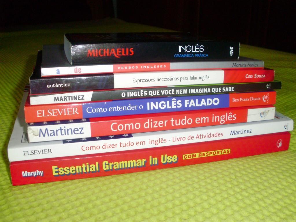 Livros para aprender inglês 2018