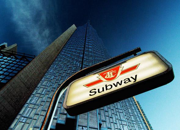 TTC-Subway-Sign