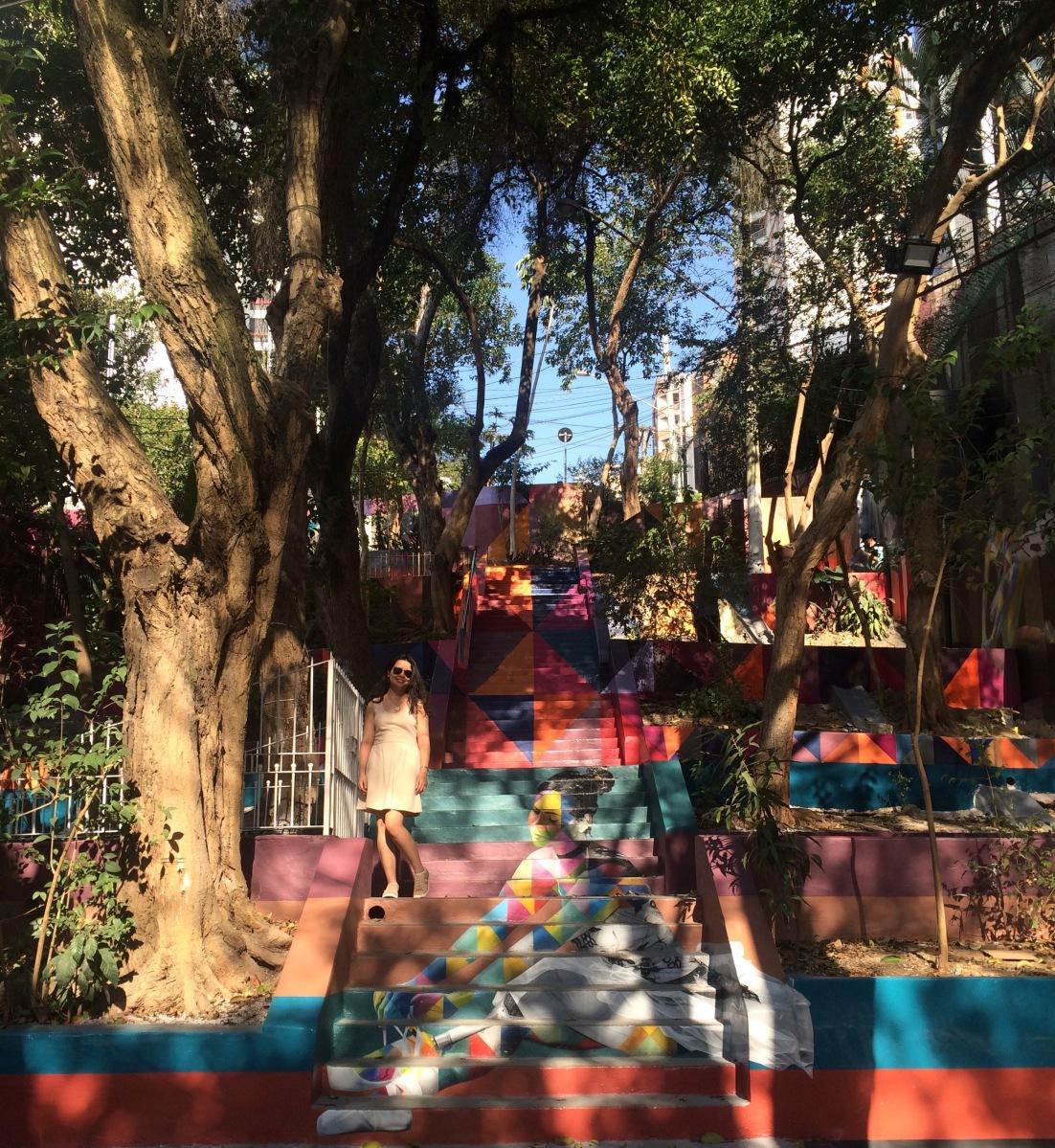 Conheça a Escadaria das bailarinas em São Paulo